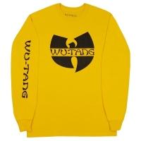 WU-TANG CLAN Classic Logo ロングスリーブ Tシャツ