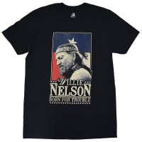 WILLIE NELSON Born for Trouble Tシャツ