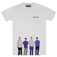 WEEZER Blue Album Tシャツ WHITE