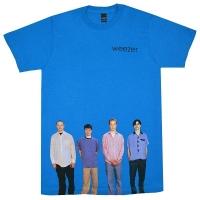WEEZER Blue Album Tシャツ BLUE
