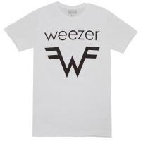 WEEZER Weezer & W Logo Tシャツ