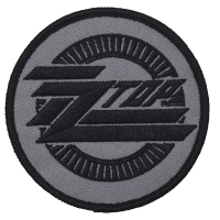 ZZ TOP Circle Logo Patch ワッペン